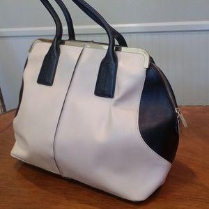 Charles Jourdan colorblock purse